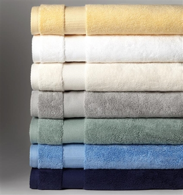 Indulge in softness and simplicity with this 100% combed cotton towel made in Portugal. These towels woven from the finest cotton, provide superior absorbency and feature a wide honeycomb-patterned dobby border..  SFERRA uses a revolutionary dyeing proce