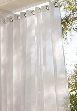 sheer curtains provide privacy and allow you protection from the sun without blocking the view