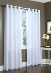 Our lined sheer curtains offer a beautiful elegant light filtering curtain at the window while giving you the maximum privacy.  You can enjoy the airy look of sheers and still insulate your windows against heat loss, drafts, and hot sun.