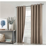 Ventura Total Blackout Curtains - Block out all light with Blackout curtains so you can sleep. Ideal for midday naps, late sleepers, or those who sleep during the day. They block out all sunlight or city lights, Keep out heat in summer and cold in winte