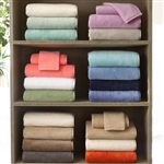 "Woven of the Finest Egyptian Cotton. Milagro towels are the softest and most absorbent towels in the world.  Woven of ""zero twist yarns""  pure cotton terry loops with the largest exposed surface for maximum absorption."
