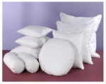 Our pillow fillers are available with a feather/down fill or a faux-down fill of 100% polyester.