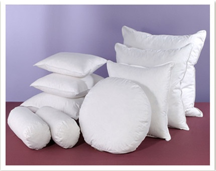 Pillow Inserts And Fillers In All Popular Sizes Stunning 100 Down Pillow Inserts