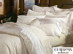 Jules by Charisma is a classic overall embroidery on 360 thread count Supima cotton. Colors, white and parchment. Machine washable.Original Charisma Bedding Made In The USA