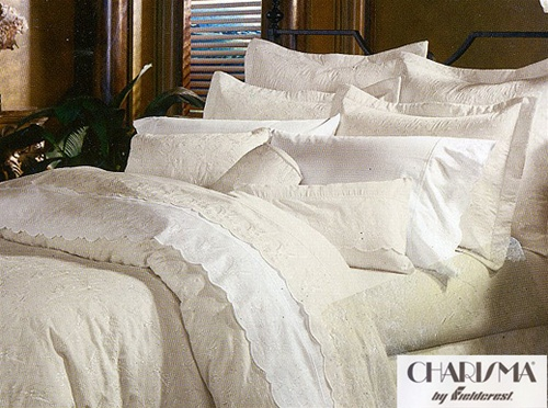 Lovely Jules By Charisma, Original Charisma Linens, Made In The USA, Elegnat Tone  On Tone All Over Embroidery, 360 Thread Count, Soft, Silky, Smooth, Supima  Cotton ...