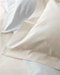 Key Largo By Matouk - Easy Care Cotton, Polyester Blend Sheeting. You will think that this is a fine cotton sheet when in reality it is the world's finest easy-care sheet. Woven in Italy of