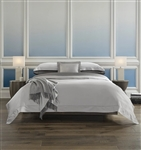 Giotto 590 Sateen sheeting by Sferra comes in sheets, cases, shams and duvet covers. Giotto is offered in 10 colors including white and ivory. Giotto is made in Italy of Italian spun Egyptian cotton.