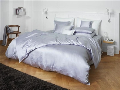 Sleep on these linens for only one night and you will be hooked. Made of 100% beechwood modal, the Solid beechwood fabric has the look and feel of silk but is very easy care. Softness through and through.