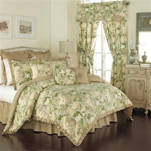 Garden Glory Reversible Comforter By, Waverly Bedding Set Queen