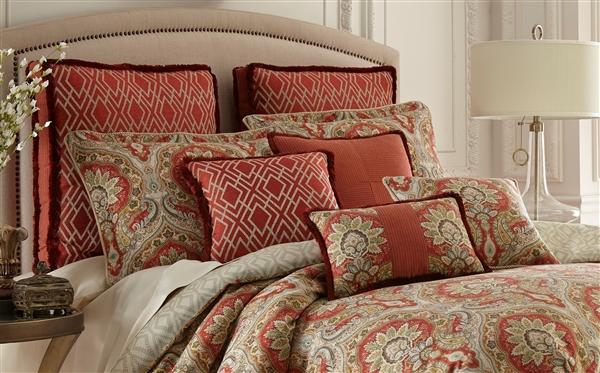 Harrogate By Rose Tree Luxurious Reversible Damask Design