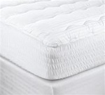 Enjoy a restfull nights sleep on a Bedsack mattress pad. Plump polyester filling for extra cushioning