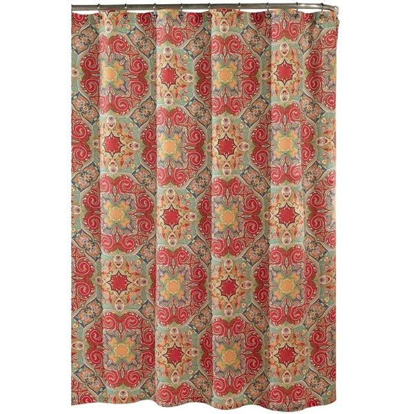 Kashmir Shower Curtain Fashion Colors Moroccan Influenced