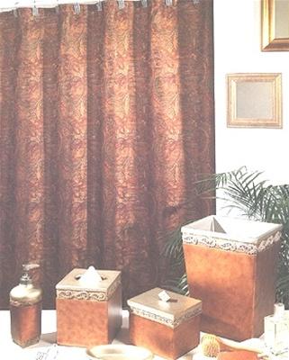 Joseph Abboud Shower Curtain Paisley Shower Curtain