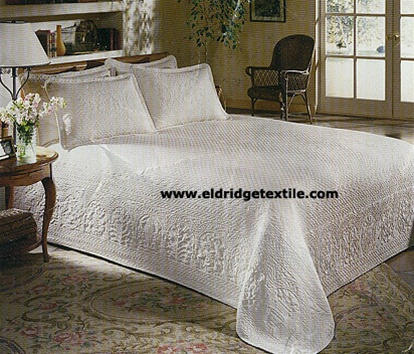 William And Mary Bedspread Elegant Woven Matelasse 100