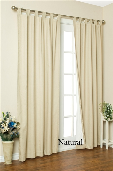 Insulated Curtains Stop Drafts Keep Out Cold Keep Out
