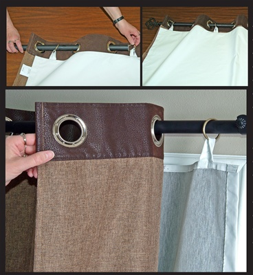 The Ultimate Total Blackout Liner Make Your Existing Curtain Panel