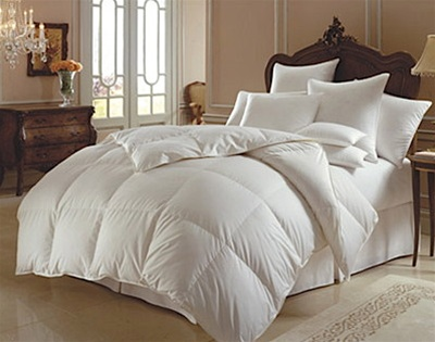 Perfect Luxe, A Luxurious White Goose Down Comforter, Lyocell cover  LM17