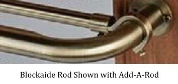 The Barricade Adjustable Curtain Rod