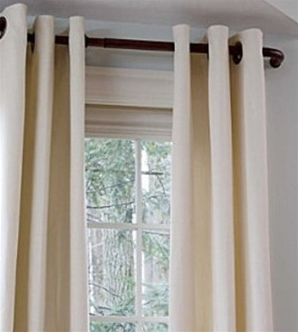 The Barricade Adjustable Curtain Rod Has A Wrap Around Design That Helps  Block Side Drafts